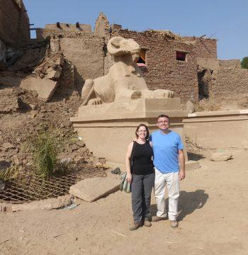 Carneros de Amón, Templo de Mut