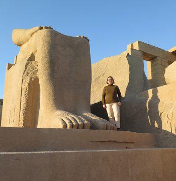 Estatua de Ramsés II, Ramesseum