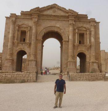 Puerta Sur de Jerash, Jordania