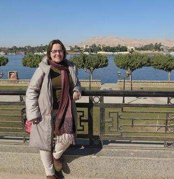 Vistas desde la Orilla Oriental, Luxor